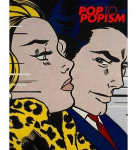 Pop to Popism - the exhibition catalogue from The Art Gallery of NSW available to buy at Museum Bookstore