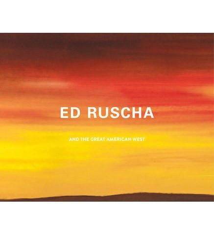 The de Young, San Francisco Ed Ruscha and the Great American West exhibition catalogue