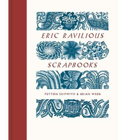 Eric Ravilious Scrapbooks - the exhibition catalogue from The Fry Art Gallery available to buy at Museum Bookstore