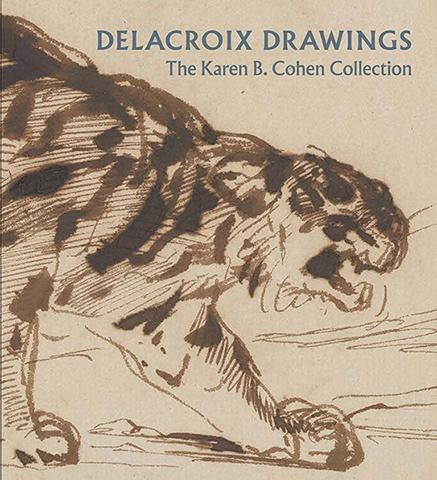 Delacroix Drawings - The Karen B. Cohen Collection - the exhibition catalogue from The Metropolitan Museum of Art available to buy at Museum Bookstore