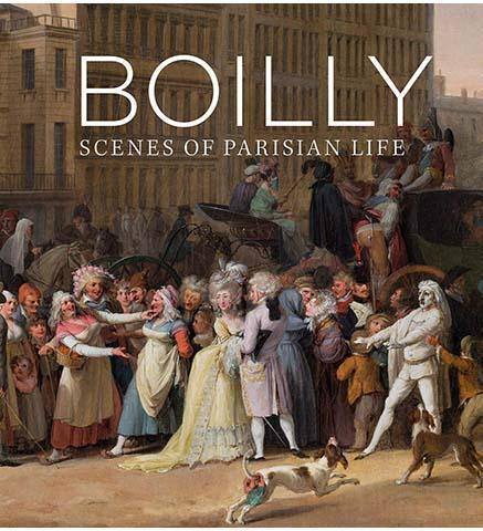 Boilly : Scenes of Parisian Life - the exhibition catalogue from The National Gallery available to buy at Museum Bookstore