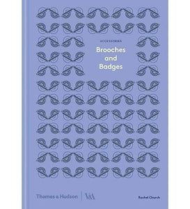 Brooches and Badges - the exhibition catalogue from V&A available to buy at Museum Bookstore