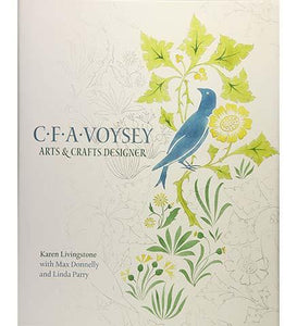 C.F.A. Voysey - the exhibition catalogue from V&A available to buy at Museum Bookstore