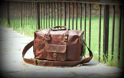 Shop Leather Duffels