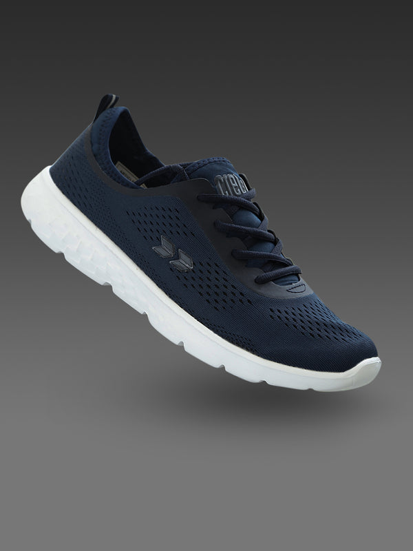 Crew STREET Men Navy Blue Running Shoes