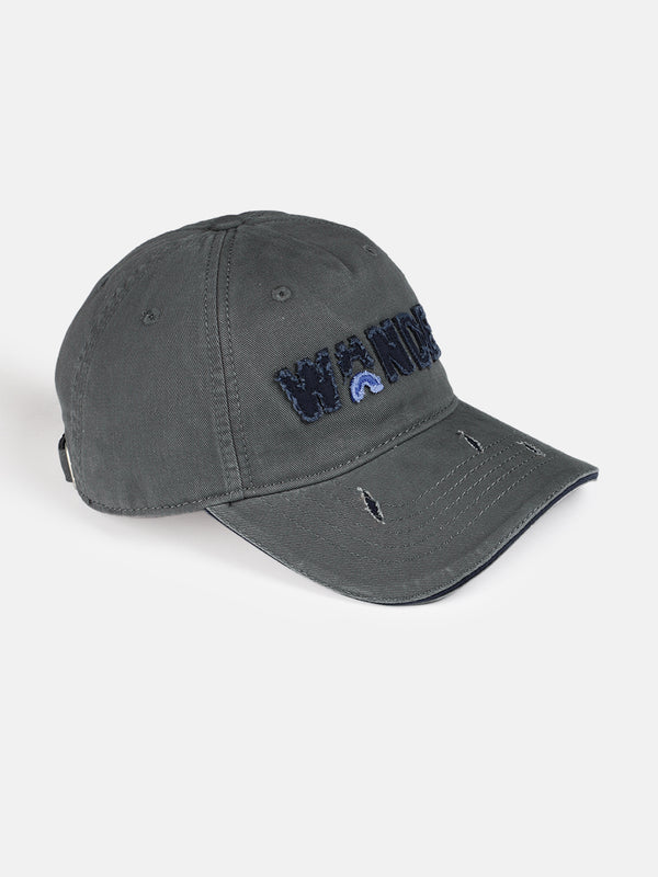 Roadster Unisex Charcoal Embroidered Baseball Cap