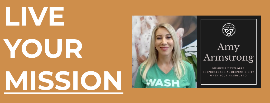 LYM #020: Amy Armstrong shares Clean The Worlds mission & wants you to wash your hands, bro