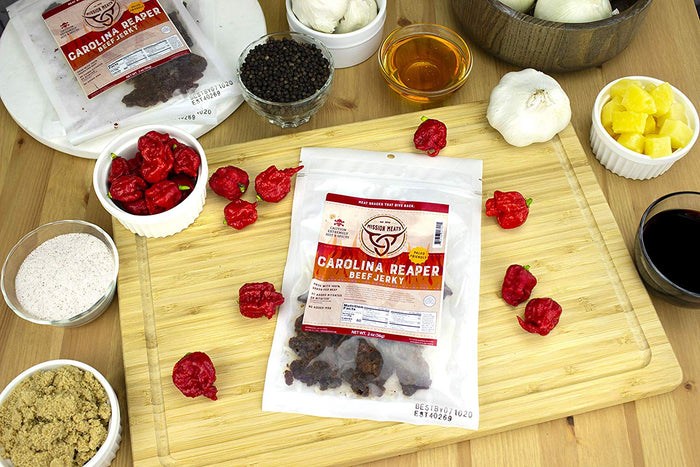 Mission Meat Carolina Reaper Beef Jerky