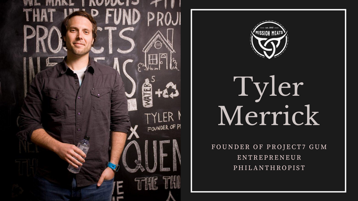 LIVE YOUR MISSION | #015: Sugar-free gum that gives back? Tyler Merrick made it happen!