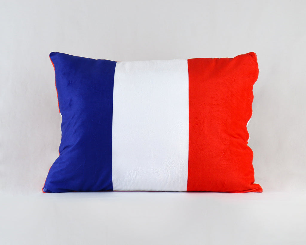 France Pillow Cover