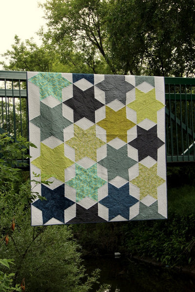 Stars over Texas queen size quilt