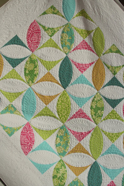 Giant Pumpkin Seed queen size quilt