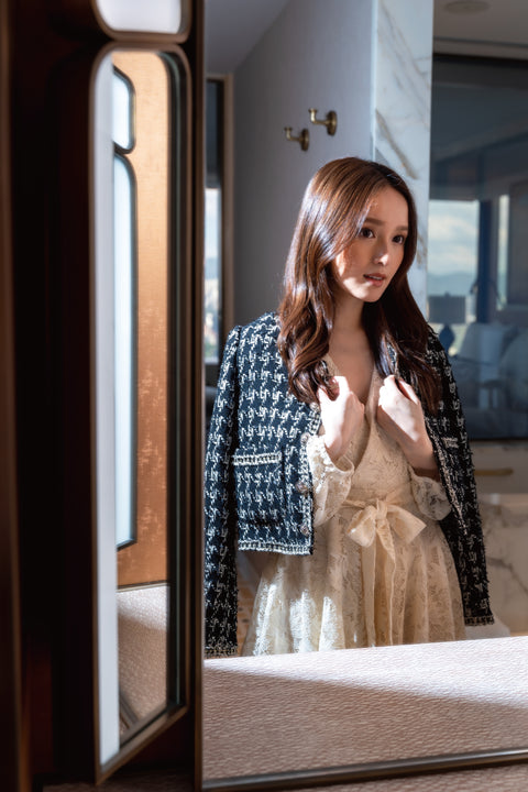 Wander With Me dress in black
