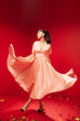 (Pre-order) You taught me love satin gown