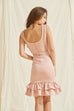 Sweet Sweet Dount satin dress