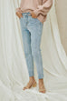 The victory jeans in light blue