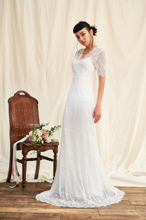 Love To Be Loved By You lace gown