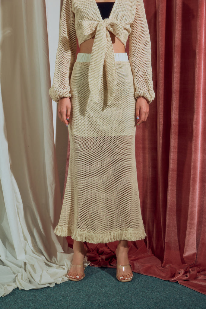 Pocahontas skirt in beige