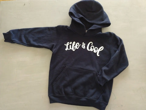 Sudadera Capucha Life is Cool