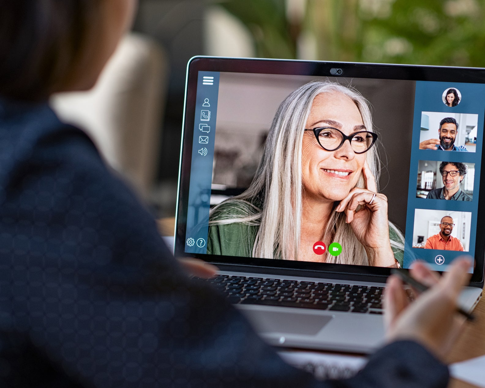 Four tips to looking your best on video chat