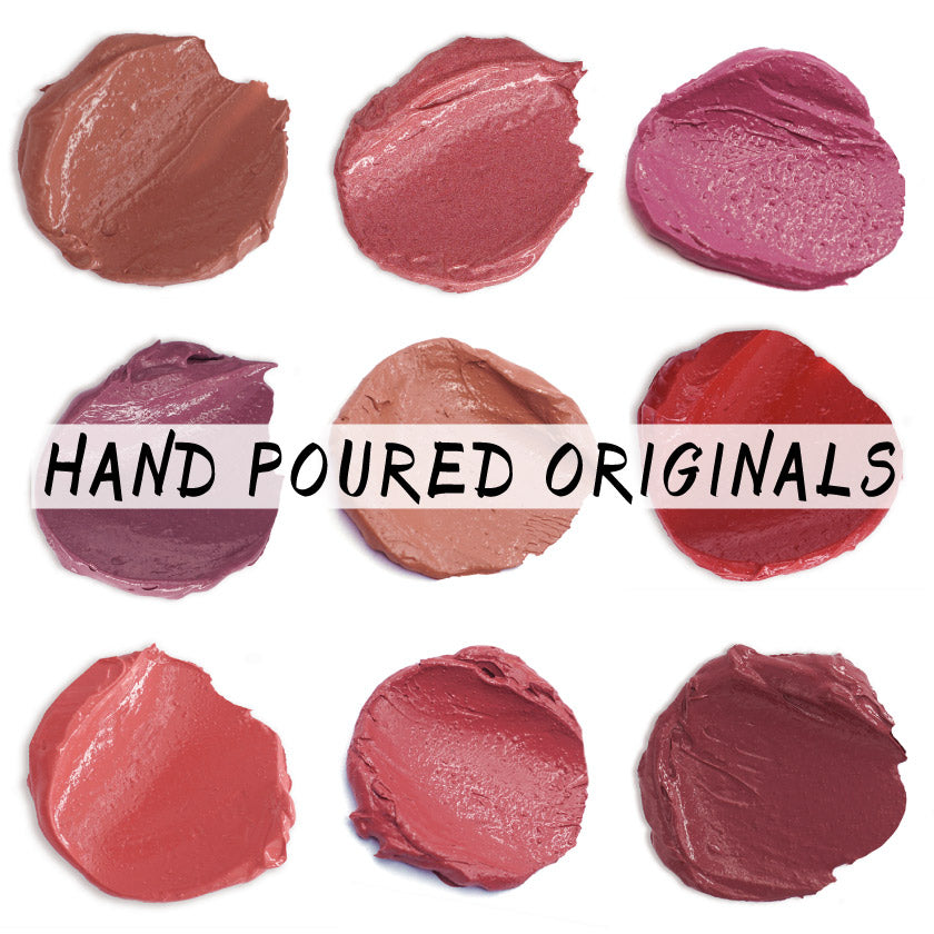 Hand-Poured Lipsticks