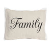 Family Pillow with insert