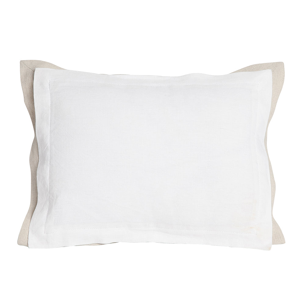 white pillow blank