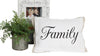 family pillow with picture