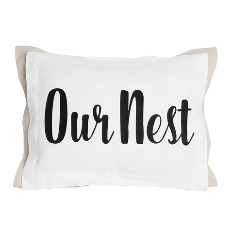 Our Nest Pillow with Insert