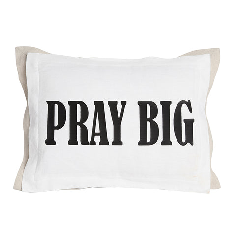 Pray Big Pillow with Insert
