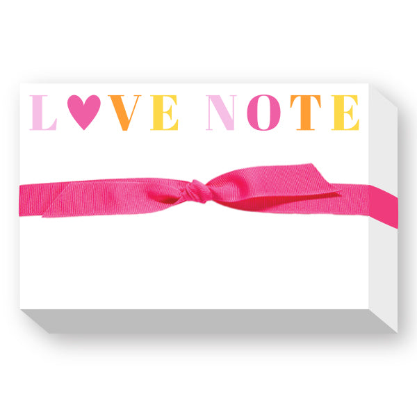 Love Note Notepad