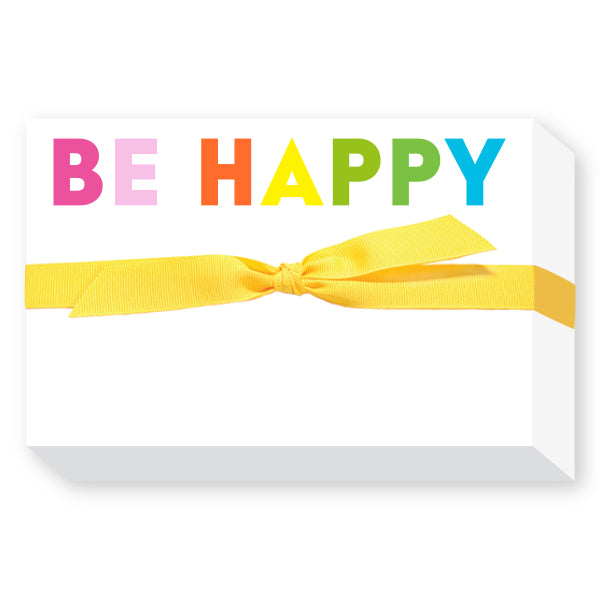 Be Happy Notepad