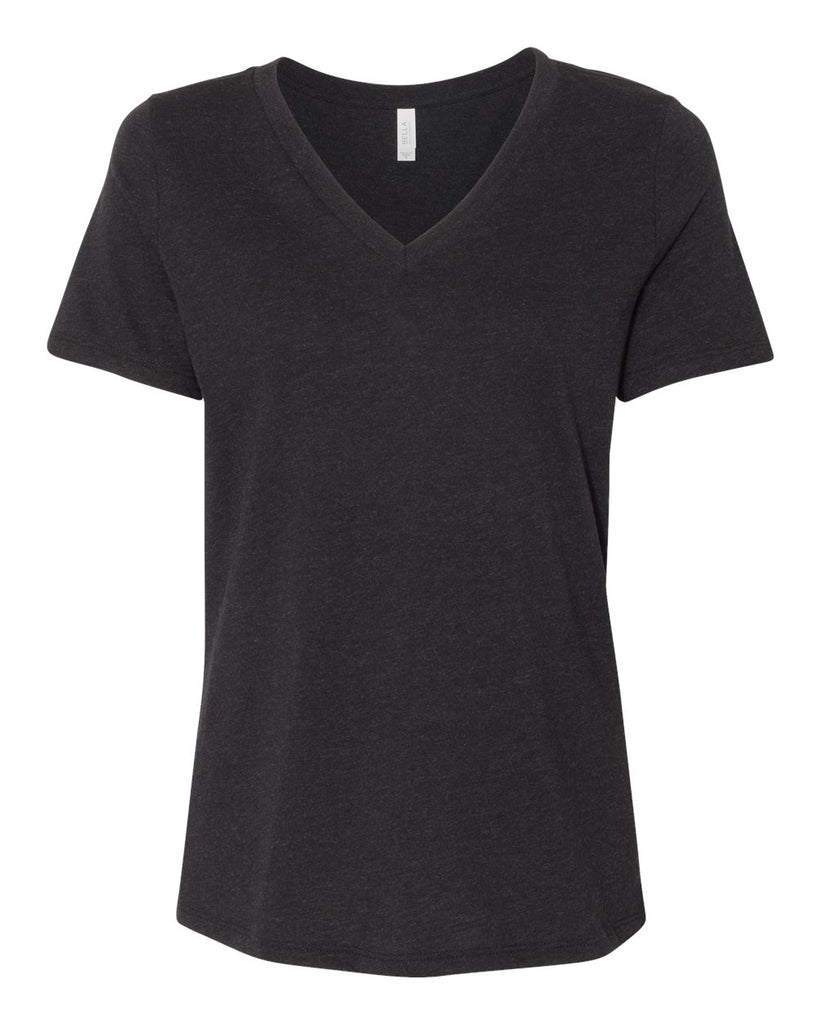 Bella Canvas V-Neck Black Heather