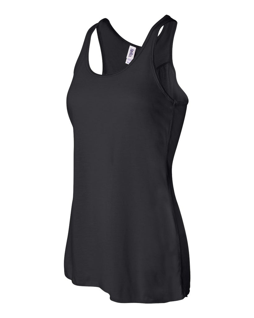 Bella Canvas Racer Back Tank Black