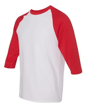 Defenders Spirit Wear-Gildan - Heavy Cotton Three-Quarter Raglan Sleeve Mom Cheer Squad T-Shirt