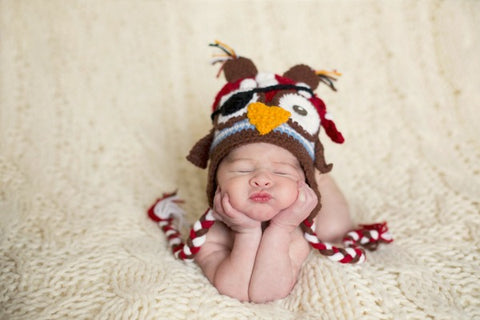 Pirate NewBorn Hat for Newborn Photoshoot-Crochet