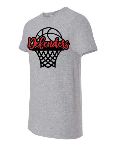 Defenders Basketball Net Spirit Wear Fruit of the Loom - Softspun Crewneck T-Shirt