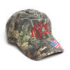 Camouflage Hat with Monogram