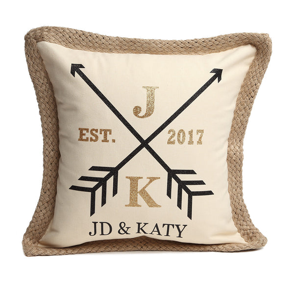 Est. Date Pillow Covers -Great Wedding Gift