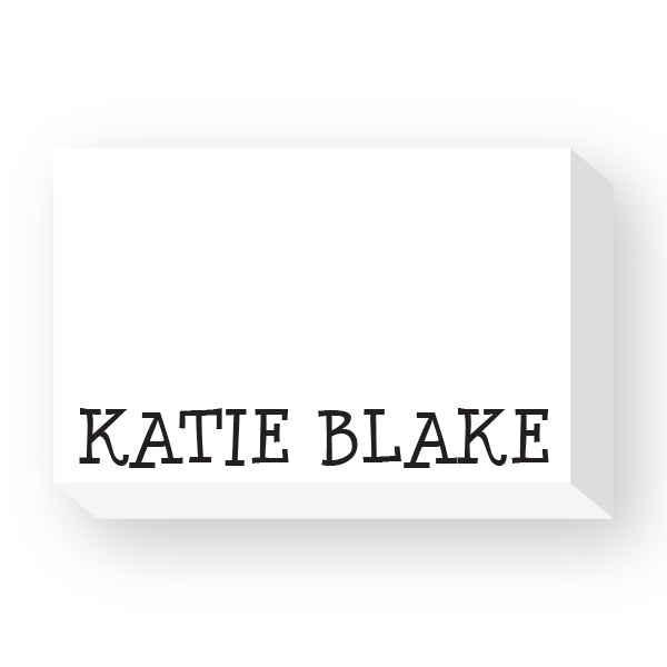 Full name notepad