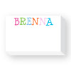 Personalized Big and Bold Notepad