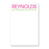 Custom Notepad for Family-Features Last name and All Family Members