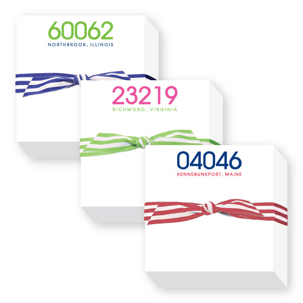 Zip Code Notepads Group