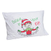 Believe in Your Elf Personalized Holiday Pillow Case