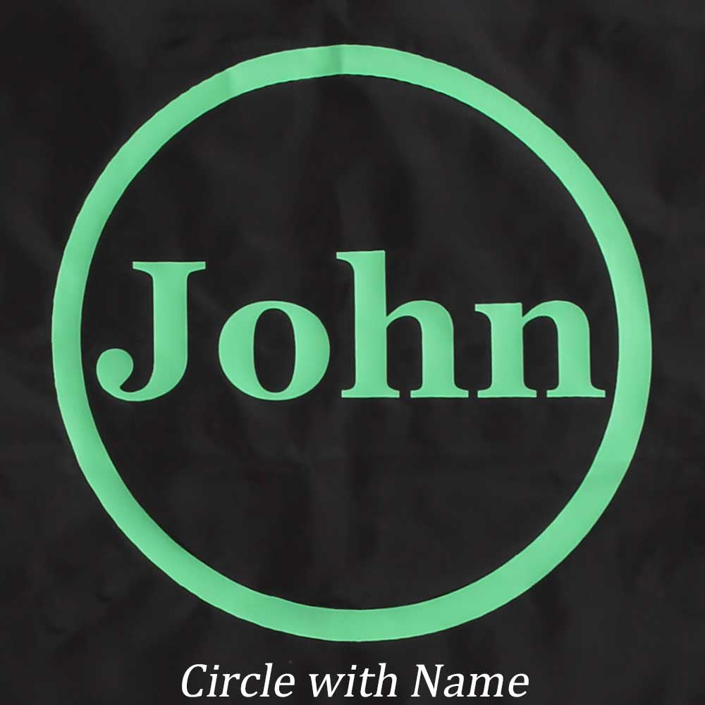 Circle with Name Design