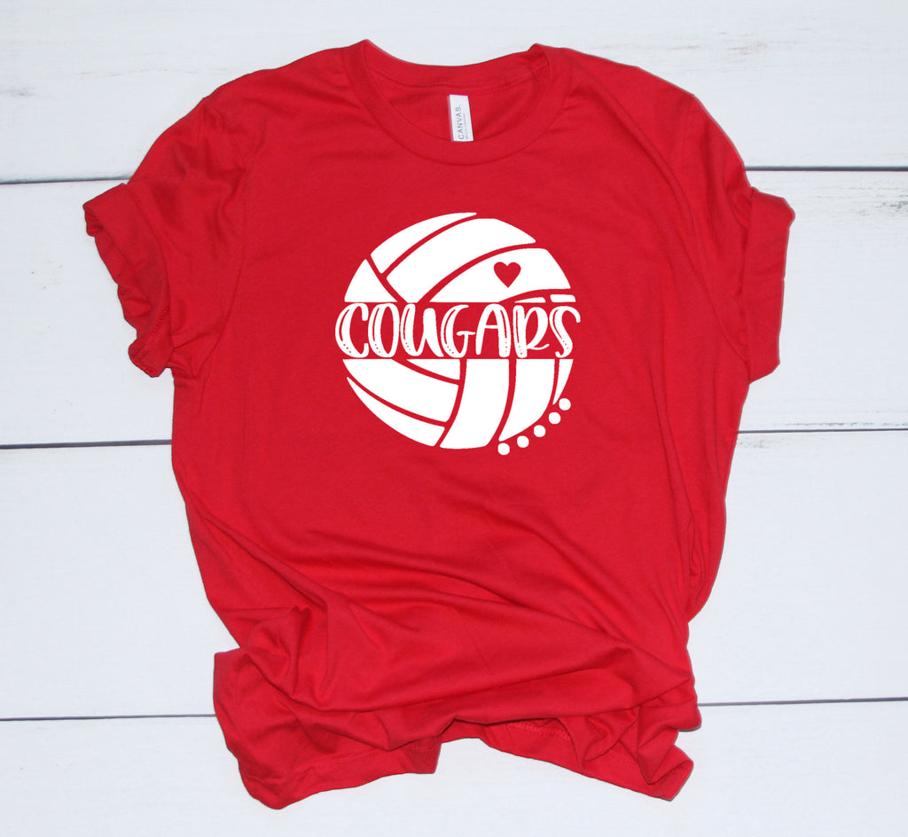Volleyball T-Shirts (Congress Middle School)