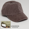 Expresso Brown Baseball Hat with adjustable Strap