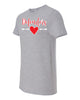 Defenders Heart with Arrow Spirit Wear- Fruit of the Loom - Soft spun Crewneck T-Shirt