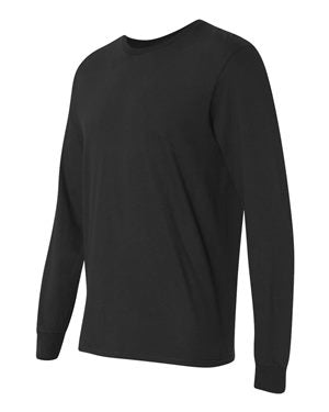 Fruit of the Loom Long Sleeve T-shirt Black