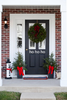 Ho Ho Ho Vinyl Decal For Front Door